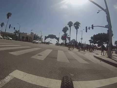 Santa Monica para Venice