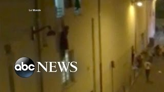 Pregnant Woman Clinging to Ledge at Paris Theater Survives