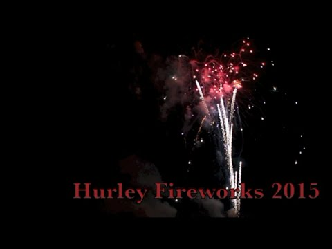 Hurley WI Fireworks July 4th, 2015