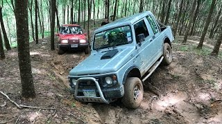 Тайланд. Suzuki Jimny, Vitara. Непреодолимый подъем в гору