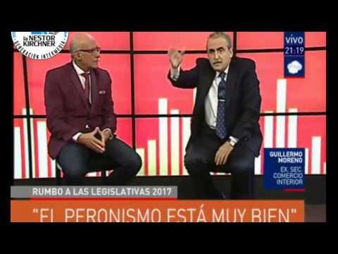 Guillermo Moreno en CN 23  25/04/17 Completo
