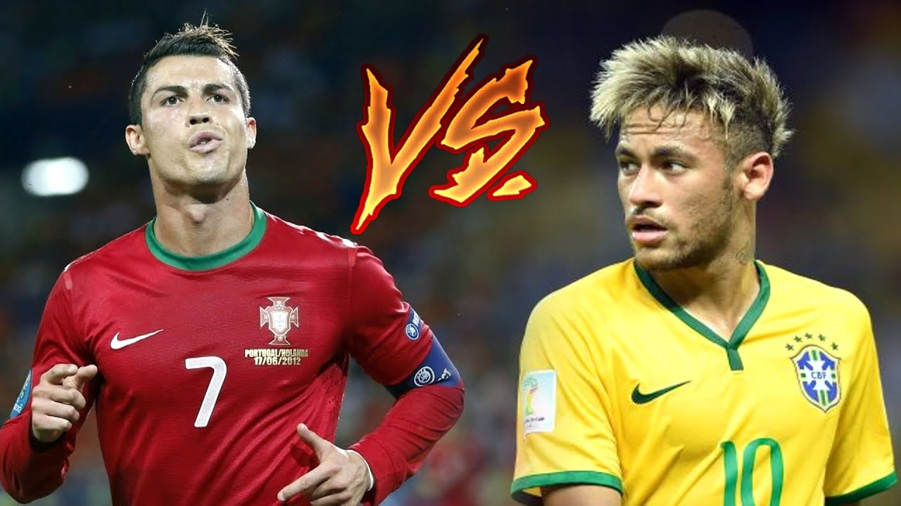 Cristiano Ronaldo Vs Neymar Jr  E  B Craziest Skills Goals  E  B Portugal Brazil   Hd Youtube
