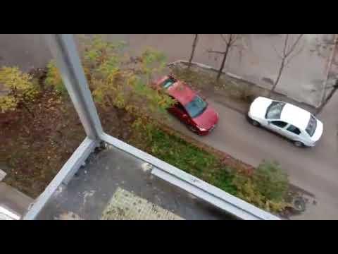 Французское остекление балкона в Серпухове
