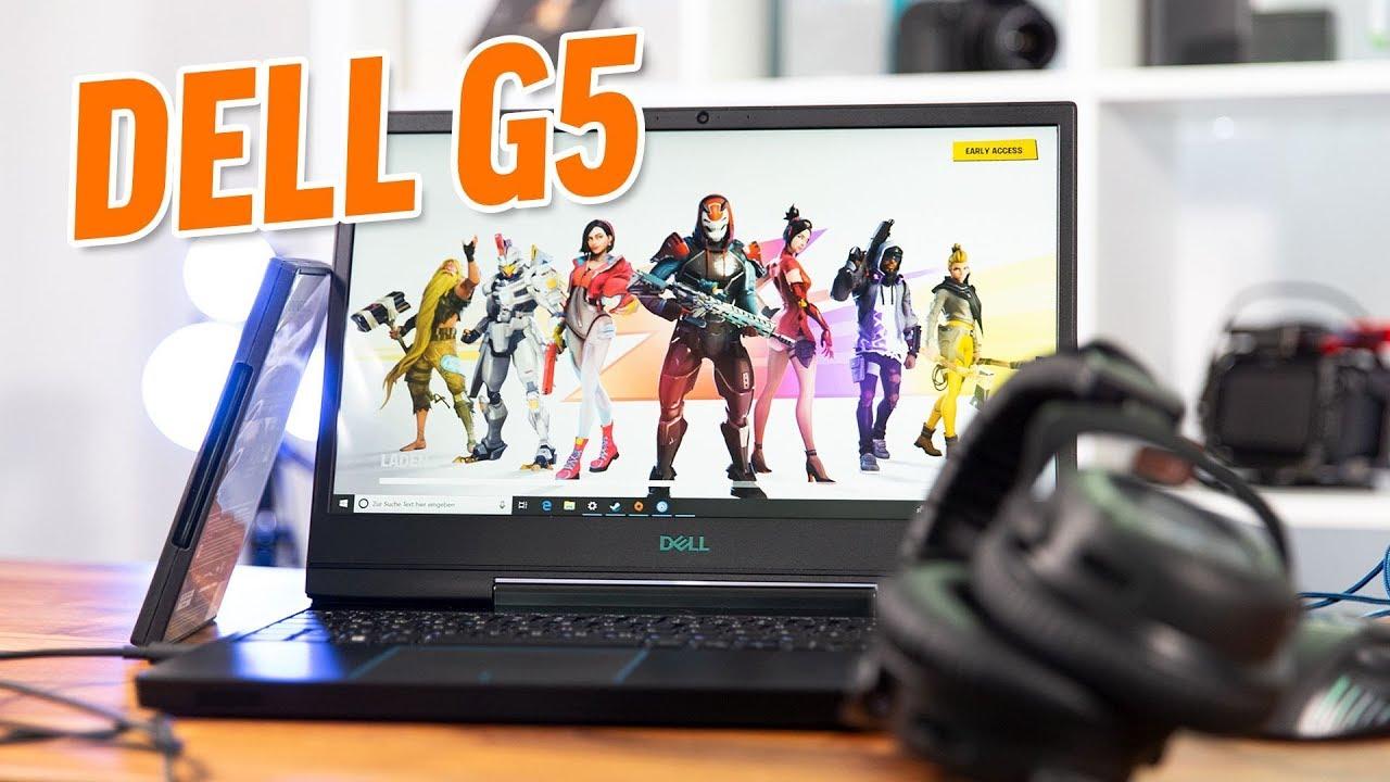 Dell G5 15 5590 im Test: 50% Gamer & 50% DELL - Deutsch / German