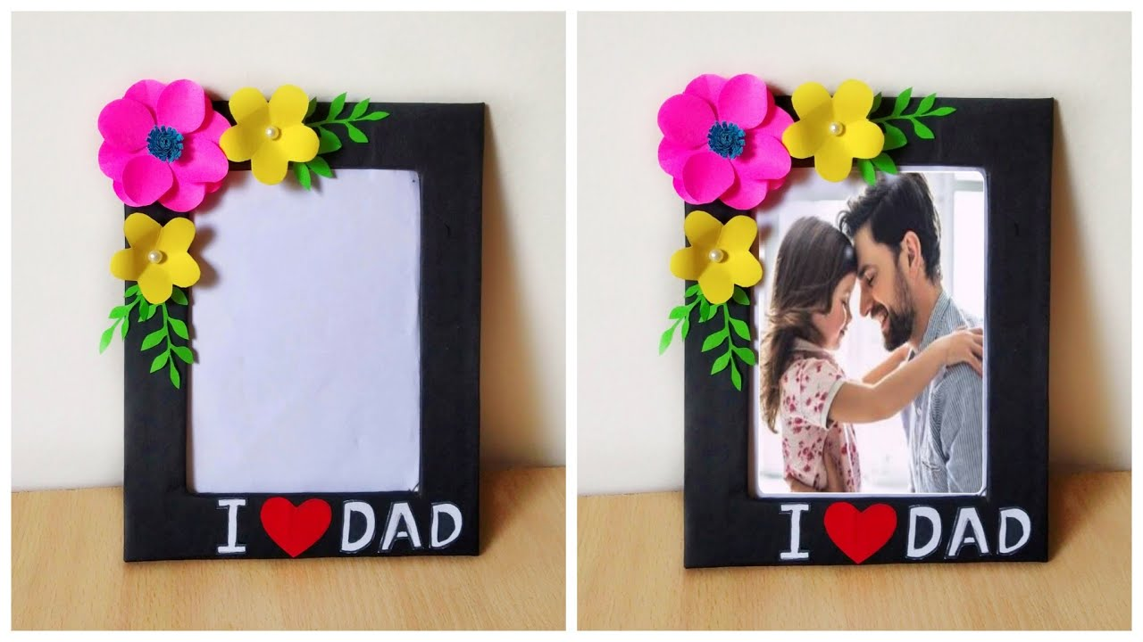 Beautiful Father's Day Photo Frame Idea • father's day gift ideas 2021