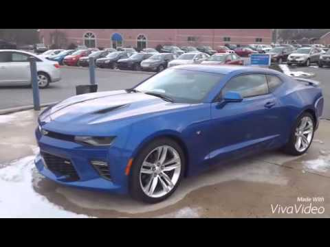 The All New Hyper Blue 2016 Camaro Ss Is Here