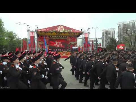 Парад Победы 9 мая 2019 Анапа Город Воинской славы.