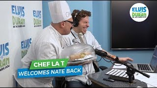 Chef La T Celebrates Nate's Return | Elvis Duran Exclusive