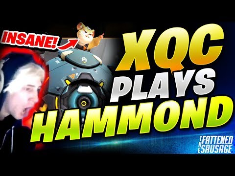 xQc REACTS & PLAYS NEW HERO HAMMOND