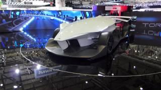 TORQ driverless LeMans racer concept at Geneva