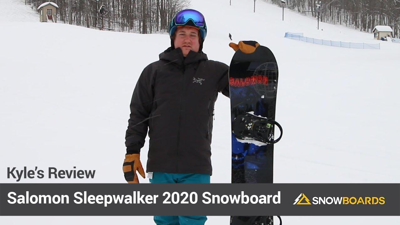 Test Salomon Sleepwalker 2020 : avis planche snowboard