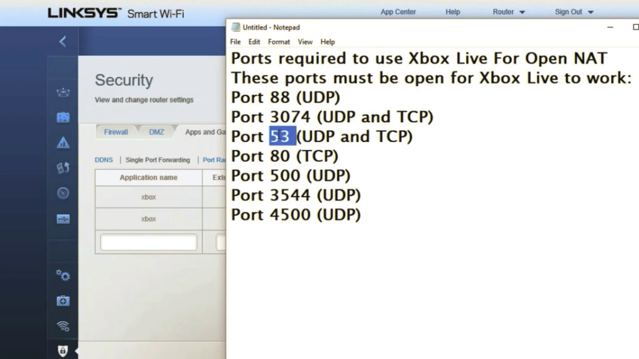 How to Fix XBOX ONE Strict Nat Type & UPNP Not Successful (Linksys Router  Port Forward Guide 2019