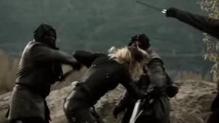 Черная Канарейка, Джон, Мерлин, Атом и Катана против Лиги Убийц в сериале