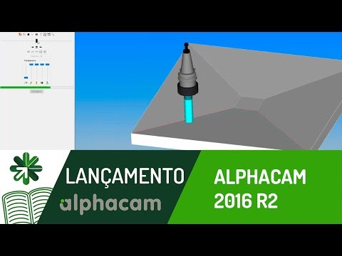 Lançamento | Alphacam 2016 R2