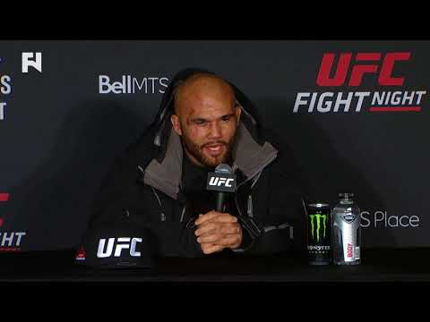 "UFC Fight Night Winnipeg: Robbie Lawler - ""It Just Wasn't My Night"""