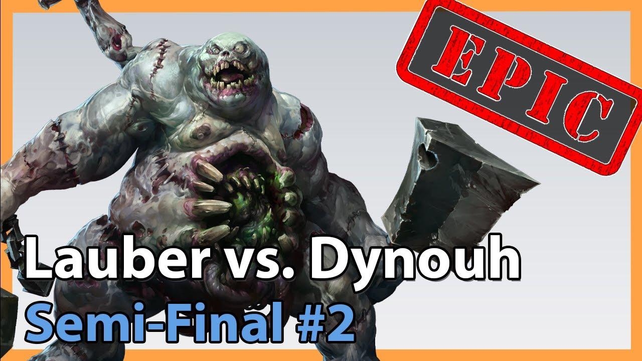 Semifinal #2 - Lauber vs. Dynouh - Heroes of the Storm 2020