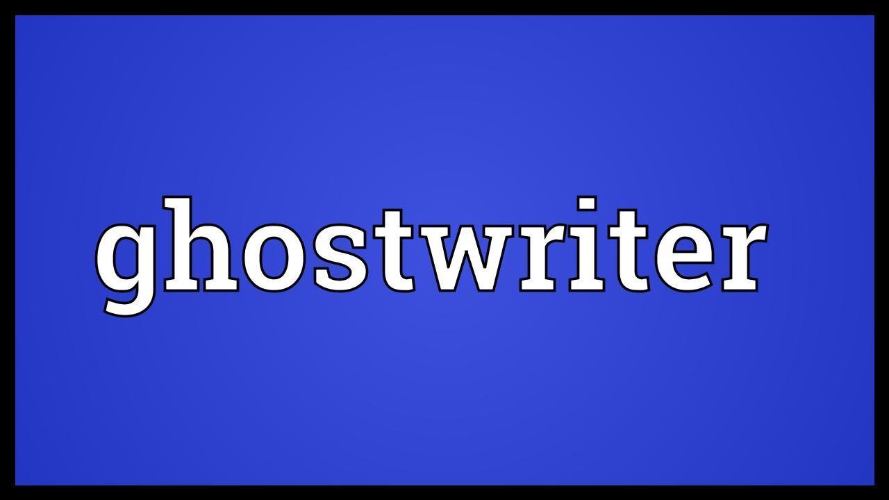 Ghostwriter urban dictionary englisch aufsatz diagramme