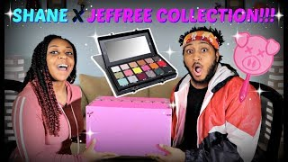 THIS IS A FIRST! | Shane Dawson X Jeffree Star Conspiracy Collection Unboxing + Amateur Review!!