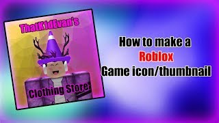 Comment faire un jeu Roblox Icon / Thumbnail en utilisant Adobe Photoshop!