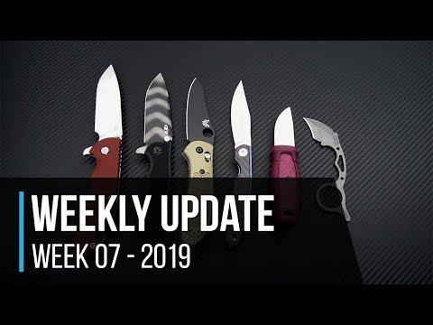 Weekly Update 7 - 2019: Hinderer XM-24 GEN 6, ZT 0562TS Sprint, S30V Griptilians And More!