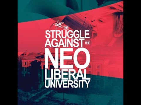 The Struggle Against The Neoliberal University: A Presentation By Dr. Henry Heller