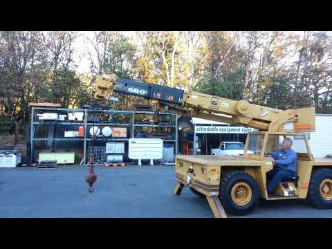 1989 Grove AP-308 Carry Deck  Crane