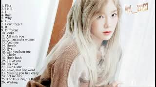 태연 노래모음 베스트 best song taeyeon - SNSD  Vol 105