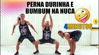 PERNA DURINHA e BUMBUM NA NUCA em 4 minutos Dançando #Desafio1Semana   Parte 4   Irtylo Santos
