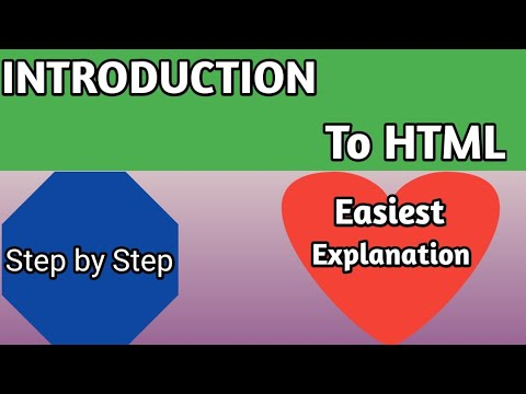 Introduction to html for beginners 2020   Top html tutorial for beginners