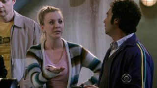 The Big Bang Theory - Penny and Raj fight over who discovered a comet.