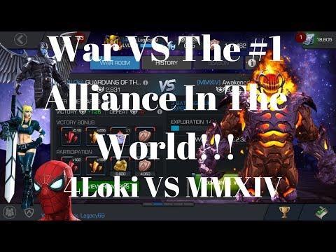 War VS The #1 Alliance In The World! 4Loki VS MMXIV!!!