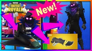 *New* Raven Skin and Space Shuttle Glider (Fortnite BR) {Happy Easter//April Fools}