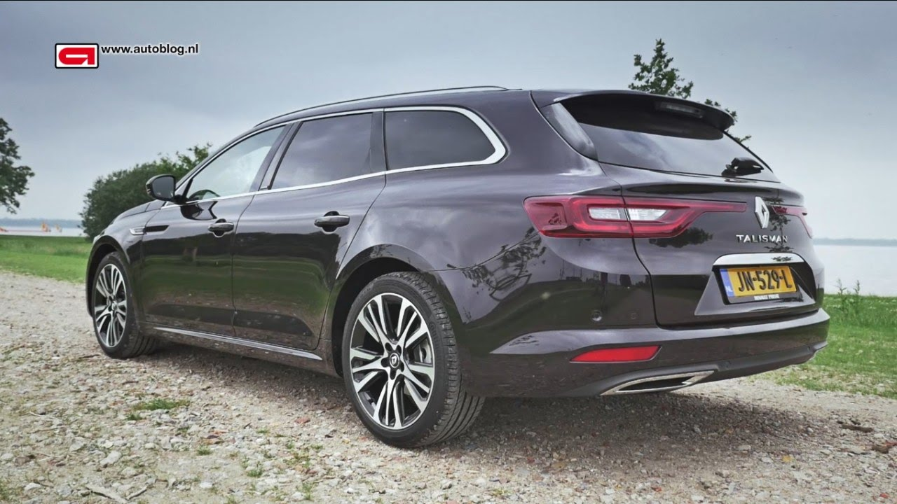 renault talisman estate review youtube. Black Bedroom Furniture Sets. Home Design Ideas