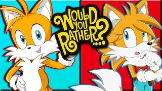 Tails & Tailsko Play Would You Rather? (Female Tails)