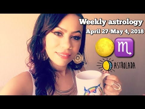 Weekly Horoscope for Apr 27th - May 4th 2018 & Celebrity Coffee Talk w/April! | Nas & Kelis