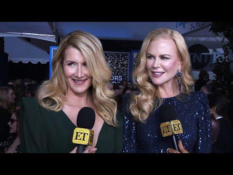 Nicole Kidman And Laura Dern Tease Possible 'Big Little Lies' MOVIE  SAG Awards 2020