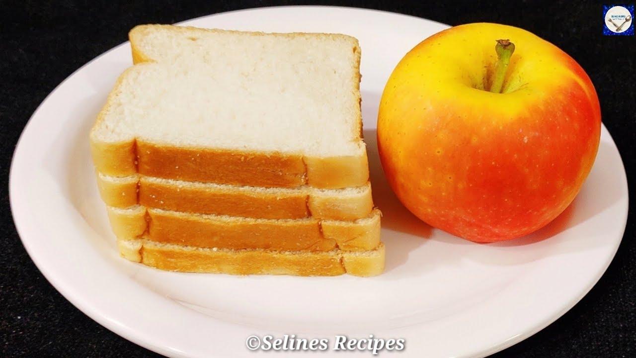 5 minutes Snack Recipe    Apple Bread Omelette  Quick Evening Snack Recipe  