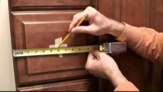 How To Install Knobs On Bathroom Vanity Drawers Video