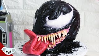 VENOM CAKE! | Spiderman Kids Cake ideas | Koalipops