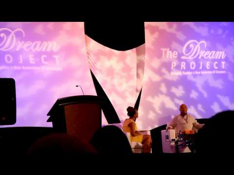 """Teneshia Warner Interviews Russell Simmons: """"The Dream Project Symposium"""" (Jean-Philippe Intro)"""