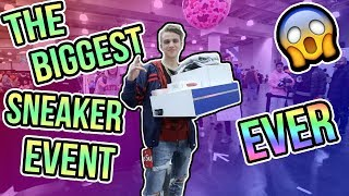 What did I Buy at the Biggest Sneaker Event Ever?! (The BEST Sneakercon!)