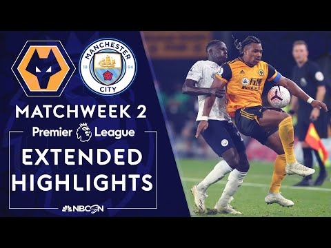 Wolves v. Manchester City | PREMIER LEAGUE HIGHLIGHTS | 9/21/2020 | NBC Sports