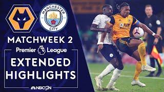 Wolves v. Manchester City | PREMIER LEAGUE HIGHLIGHTS | 9/21/2020 | NBC Sports