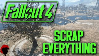 Fallout 4 - How To Scrap Everything at Once!!