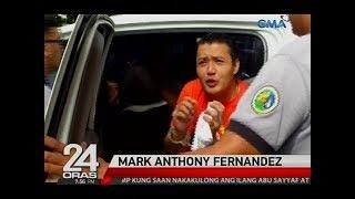 24 Oras: Mark Anthony Fernandez, naluha matapos ang pagdinig sa kaso