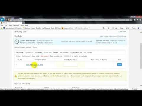 Online Auction Training Telugu ( AuctionTiger )