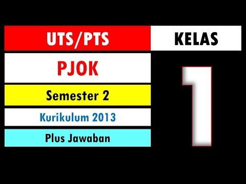 Soal UTS PTS PJOK Kelas 1 Semester 2 Kurikulum 2013 dan Kunci Jawaban