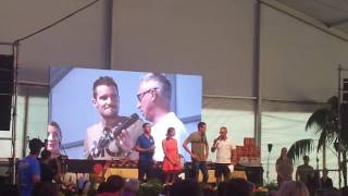 Ironman Austria 2017 after party little thought from Frodeno
