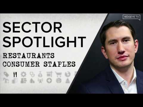 Sector Spotlight | Restaurants & Consumer Staples 5/2/2017