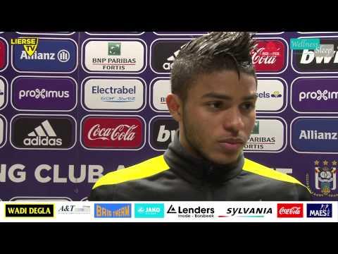 Wanderson na de 3-0 nederlaag op Anderlecht